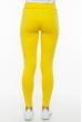 Лосины женские спортивные с лампасами 611F001 морковно-белый