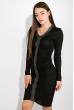 Платье 516F294 черный