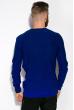 Джемпер мужской  520F026 тонкий темно-синий / электрик