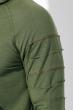 Толстовка мужская на молнии, с капюшоном 76PD1190 хаки