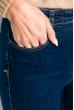 Джинсы женские 85P18500 синий