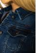 Куртка женская с легкими потертостями 134P3335 синий