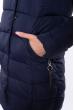 Куртка женская стеганая 120PSKL17028 темно-синий