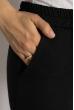 Брюки женские зауженные 633F003 черный