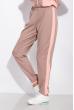 Костюм спортивный с манжетами 146P081-1 серо-розовый