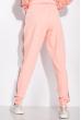 Костюм спортивный с манжетами 146P081-1 розово-серый