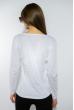Лонгслив женский с принтом 85F10154-1 LOVE белый