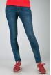 Джинсы женские приталенный покрой 794K001 темно-синий