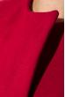 Жилет женский с мехом на плечах 69PD725 вишневый