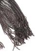 Шарф женский двухцветный 73PD006 серый , люрикс
