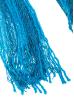 Шарф женский двухцветный 73PD006 бирюзовый , люрикс