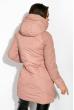 Пуховик женский 120PSKL6257 светло-розовый