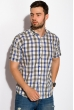 Рубашка 511F024 песочно-синий