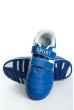 Кроссовки 11P114 junior сине-белый