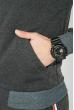 Толстовка мужская теплая, однотонная 70PD5018 грифельный