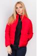Куртка теплая женская 733K002 красный