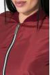 Бомбер женский 72PD191 бордовый