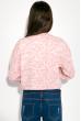 Свитшот женский укороченный 32P028 бледно-розовый