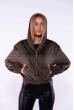 Куртка из вельвета 153P013 хаки