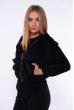 Куртка из вельвета 153P013 черный