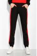 Костюм спортивный констрастных цветов 151P054 черно-красный