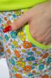 Пижама женская 107P037 салатовый