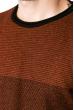 Джемпер 520F028 кирпично-черный
