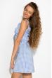 Платье женское 120P020 бело-голубой