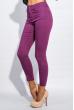 Брюки женские укороченные 413F002 фиолетовый