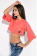 Батник-топ женский 516F133 розовый