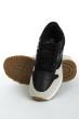 Кроссовки женские 11P126 черно-серый