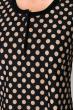 Ночная рубашка женская 107P02717 темно-синий / бежевый