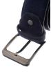 Ремень мужской в стильных оттенках, замшевый 23P025 синий