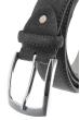 Ремень мужской в стильных оттенках, замшевый 23P025 серый