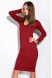 Платье 110P500 бордовый