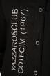 Рубашка с принтом на груди  644f016 черный