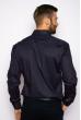 Рубашка с принтом на груди  644f016 темно-синий