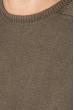 Свитер мужской фактурная вязка на плече 498F005-1 темно-бежевый