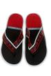 Вьетнамки мужские 11P019 красно-черный