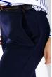 Костюм женский (рубашка,брюки) Классический 95P8024 сине-белый