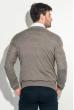Пуловер мужской с комбинированным орнаментом 50PD311 серый