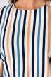 Блуза женская 148P927 бело-синий