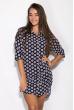 Платье 118P243 сине-бежевый