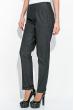 Брюки женские, классического покроя  64PD48-9 джинс черный