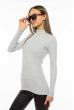 Гольф женский базовый 85F228 светло-серый