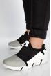 Кроссовки женские 11PWB230 черно-белый / серый
