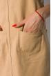 Комбинезон джинсовый 120PAML2030 песочный
