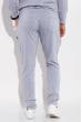 Костюм спортивный мужской, однотонный с капюшоном 103P001 светло-серый