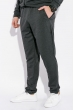 Костюм спортивный мужской, однотонный с капюшоном 103P001 серый