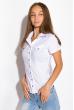Классическая рубашка 118P001 с коротким рукавом белый